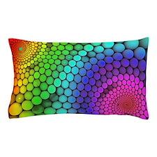 Rainbow Bubbles Pillow Case