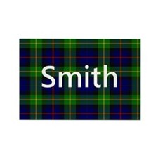 Smith Family Name Tartan Personalized Magnets
