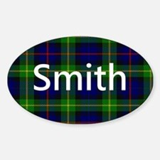 Smith Family Name Tartan Personalized Decal