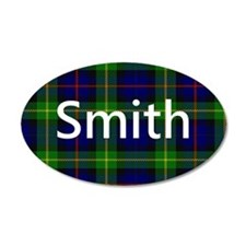Smith Family Name Tartan Personalized Wall Decal