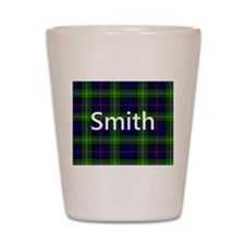 Smith Family Name Tartan Personalized Shot Glass