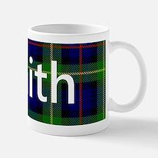 Smith Family Name Tartan Personalized Mugs