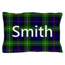 Smith Family Name Tartan Personalized Pillow Case
