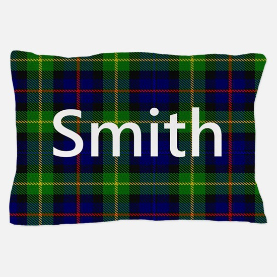Smith Family Name Tartan Personalized Pillow Case