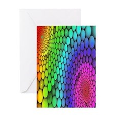 Rainbow Bubbles Greeting Cards