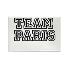 Team Paris Rectangle Magnet