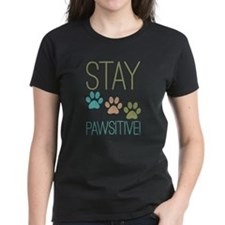 Stay Pawsitive Tee