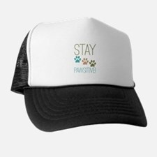 Stay Pawsitive Trucker Hat