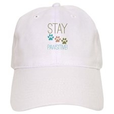 Stay Pawsitive Baseball Baseball Cap