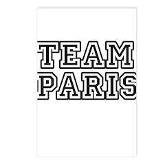 Team Paris Postcards (Package of 8)