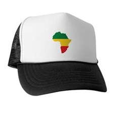 Green, Gold and Red Africa Flag Hat