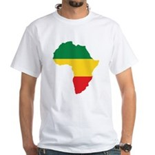 Green, Gold and Red Africa Flag T-Shirt