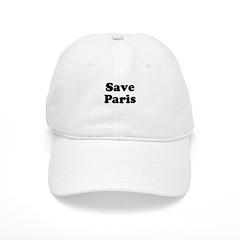 Save Paris Baseball Cap