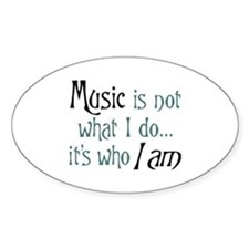 Cute Music Decal