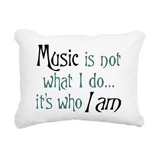 Cute Music Rectangular Canvas Pillow
