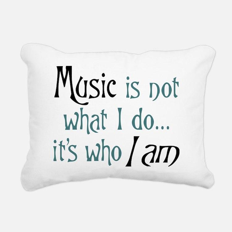 Cute Music Rectangular Canvas Pillow