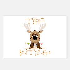 Team Blitzen Postcards (Package of 8)