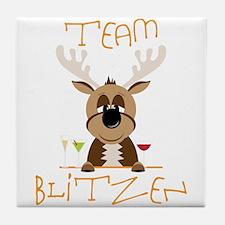 Team Blitzen Tile Coaster