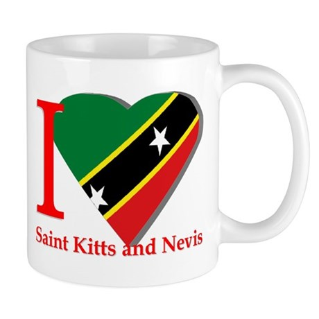 I love St Kitts & Nevis Mug