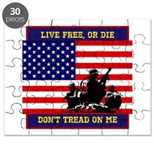 Dont Tread on Me Puzzle