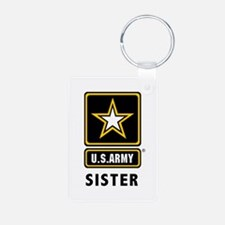 Army Sister Keychains