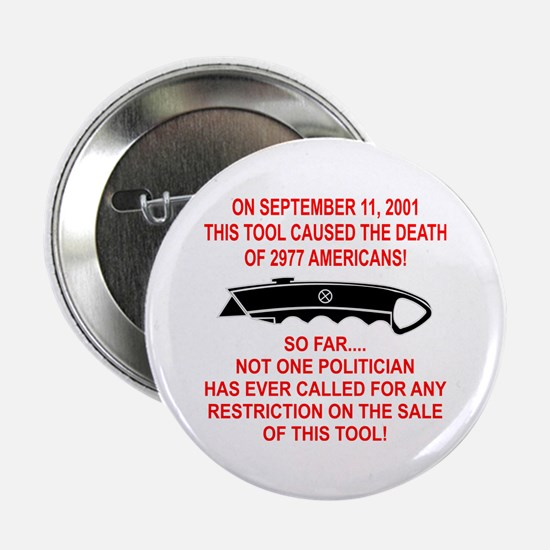 "2977 Americans Dead 2.25"" Button (10 pack)"
