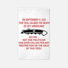 2977 Americans Dead 3'x5' Area Rug