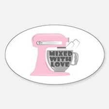 Mixed With Love Decal