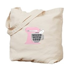 Mixed With Love Tote Bag