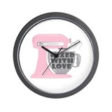 Pink kitchen Wall Clocks