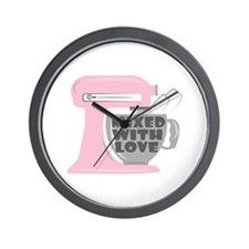 Mixed With Love Wall Clock