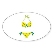 Polka Dot Bikini Decal