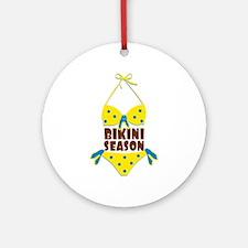 Bikini Season Ornament (Round)