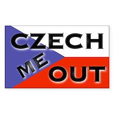 CzechMeOut Decal