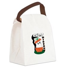 Ghost Hideout Canvas Lunch Bag