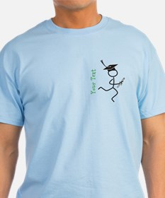 Grad Runner © Optional Text T-Shirt