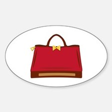 Red Purse Decal