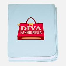 Diva Fashionista baby blanket