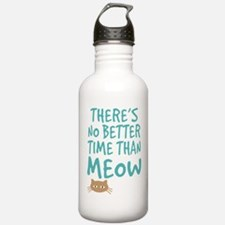 Time Than Meow Water Bottle