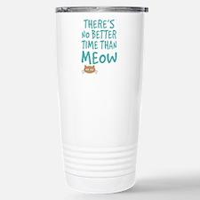 Time Than Meow Travel Mug
