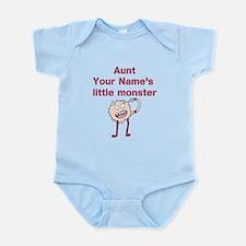 Aunts Little Monster (Custom) Body Suit