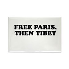 Free Paris, then Tibet ( FreeParis.org) Rectangle