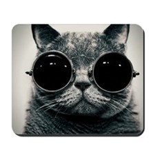 Shades on Cats Mousepad