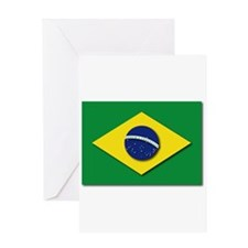 Flag - Brazil (Brasil) Greeting Card