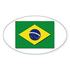 Flag - Brazil (Brasil) Decal