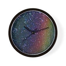 Glitter In My Veins Wall Clock
