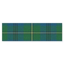 Johnson Plaid Tartan Bumper Bumper Sticker