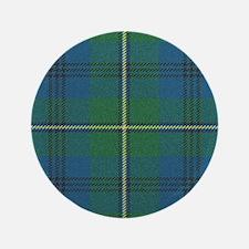 """Johnson Plaid Tartan 3.5"""" Button (100 pack)"""