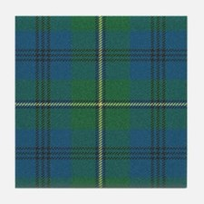 Johnson Plaid Tartan Tile Coaster