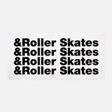 Roller Skates Beach Towel